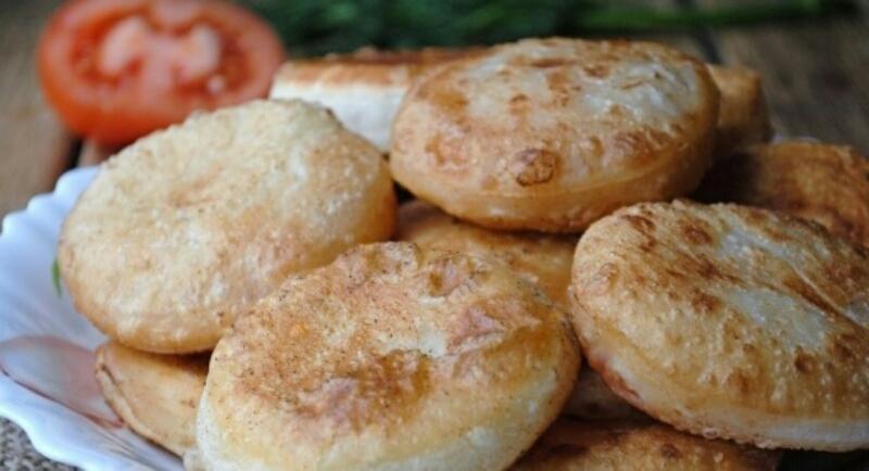 """Сочные пирожки """"Бомбочки"""" с творогом и помидорами"""