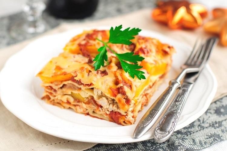 Овощная лазанья: рецепт диетического блюда