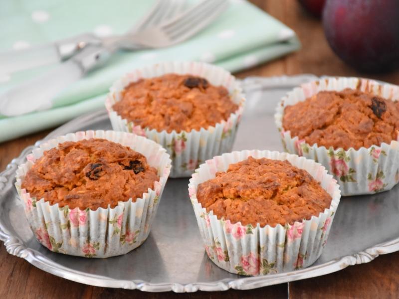 Божественные морковные кексы с черносливом: от них невозможно оторваться