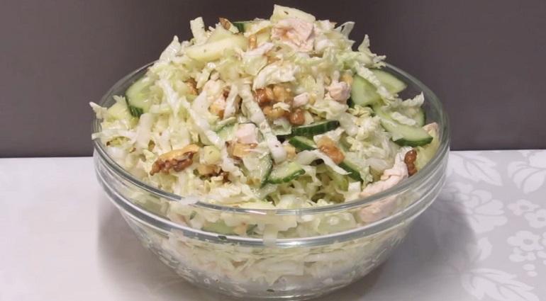 Потрясающий салат к ужину на каждый день: просто, быстро и очень вкусно