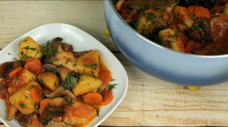 Постное овощное рагу: беспроигрышный вариант вкусного обеда или ужина