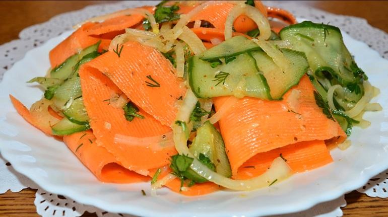 Салат «Витаминный»: и закуска, и гарнир