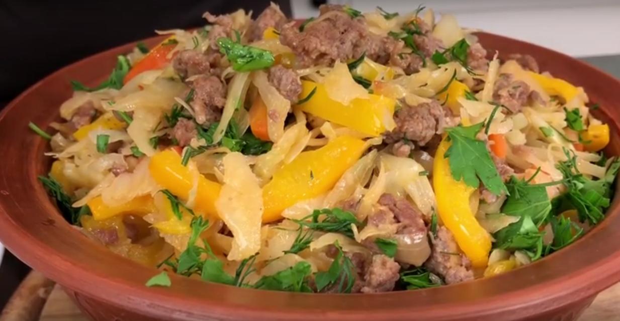 Капуста по-деревенски: вкусный обед на большую семью