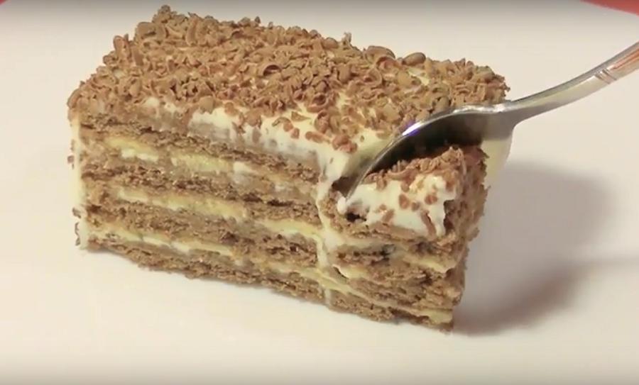 Торт без выпечки за 5 минут - простой и вкусный