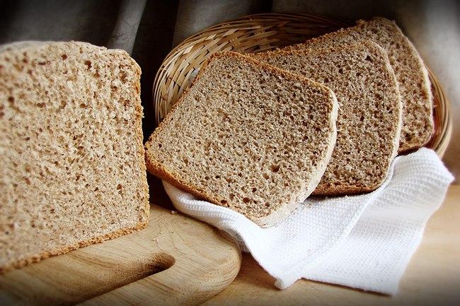 Вкуснейший пшеничный хлеб на ржаной закваске
