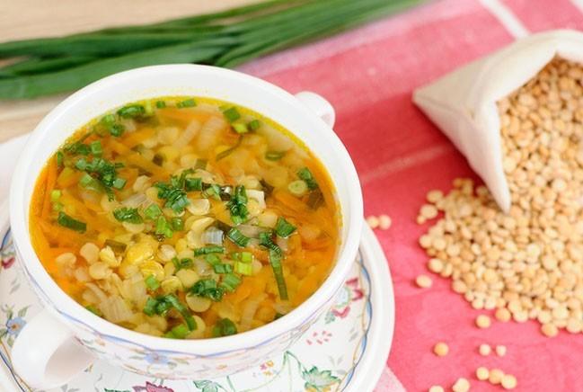 Готовим в мультиварке: аппетитный постный гороховый суп