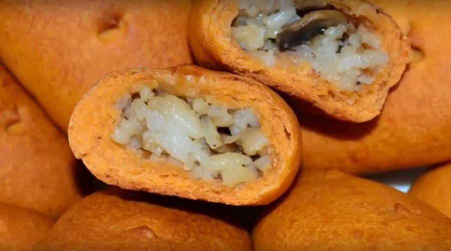 Пирожки на томатном тесте (постный вариант)