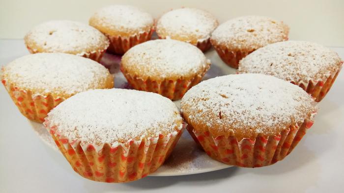 """Потрясающие кексы """"Мохито"""""""