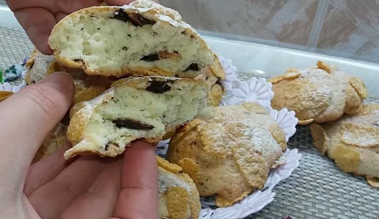 Чудесное песочное печенье для домашнего чаепития