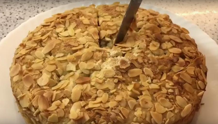 Старинный рецепт яблочного пирога