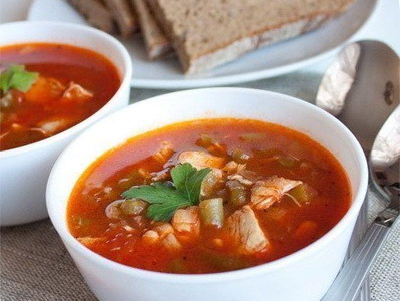 Непередаваемо вкусный суп с фасолью и курицей