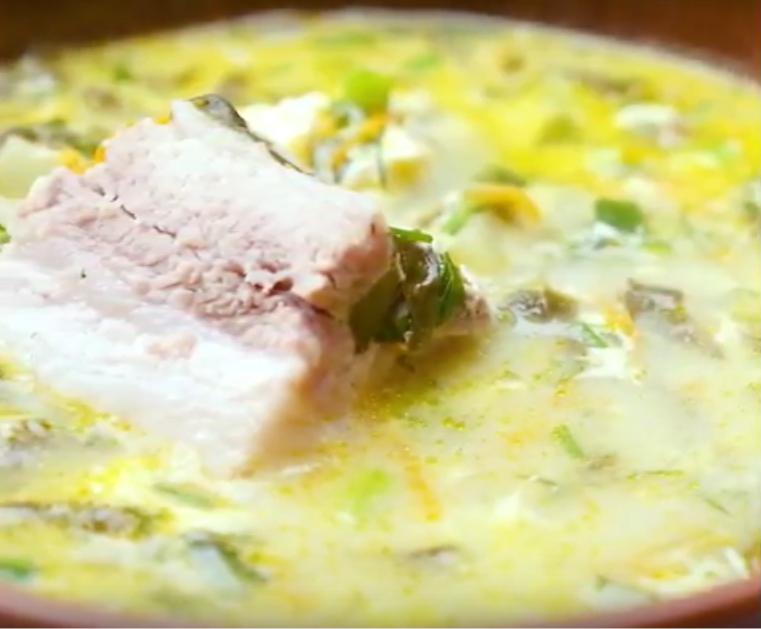 Щавелевый или зеленый борщ: вкусное блюдо к обеду