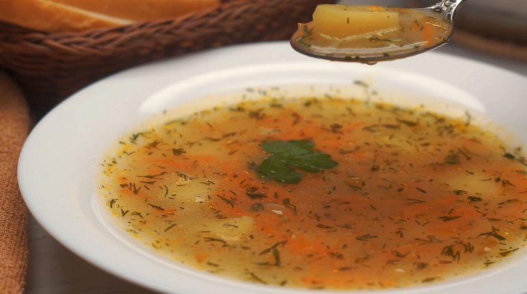 Постный суп «Геркулес»: даже дети в восторге