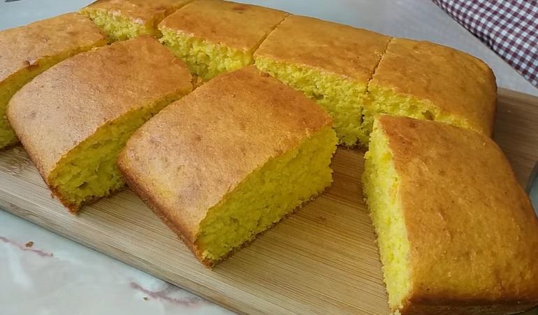 Сладкий пирог на скорую руку: без яиц и молочных продуктов