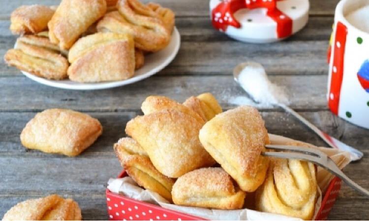 """Обалденное творожное печенье """"Конвертики"""""""