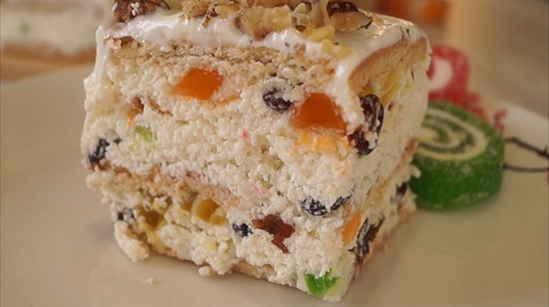Творожный торт без выпечки: быстро, просто и вкусно