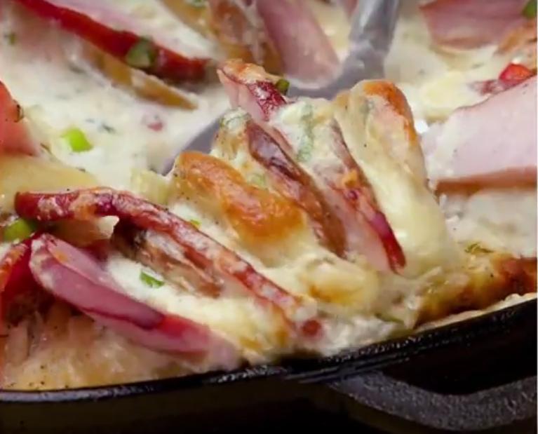 Сырный картофель: вкуснейший гарнир к мясу или рыбе