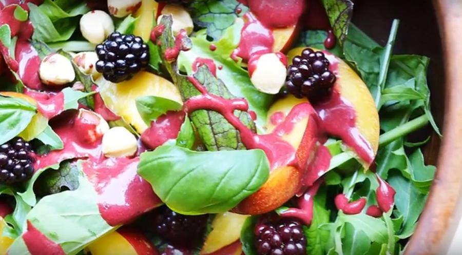 Постный фруктовый салат: добавляем витаминов в рацион