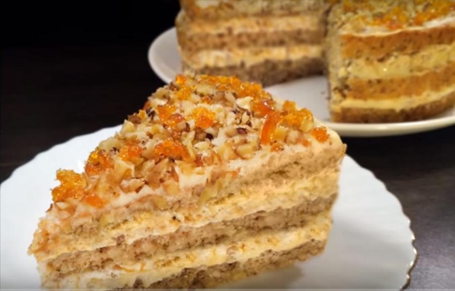 """""""Египетский торт"""": нежный и изумительно вкусный"""