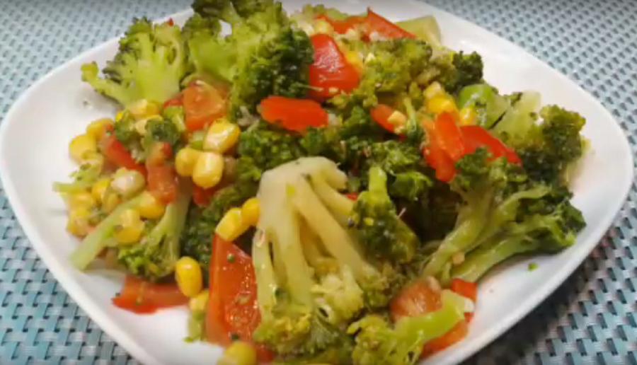 Салат из брокколи: вкусно и просто