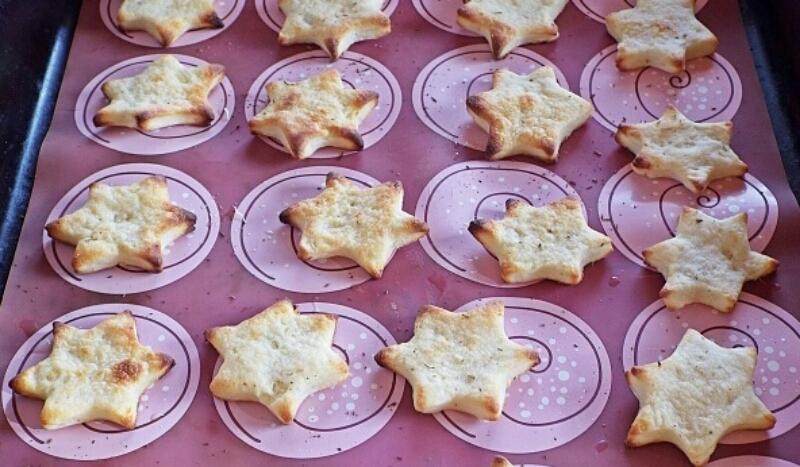 Постное картофельное печенье