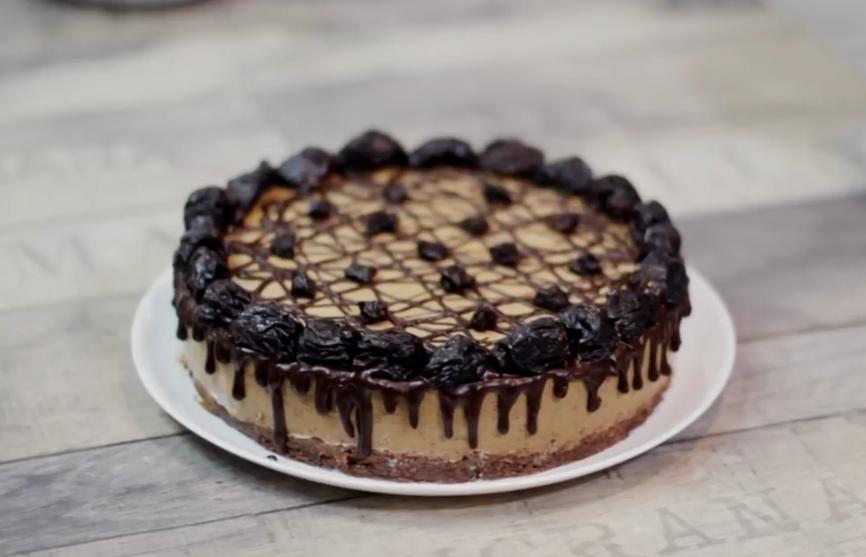 Вкуснейший низкокалорийный торт мусс с черносливом