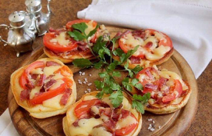 Потрясающе аппетитные оладьи-пиццы