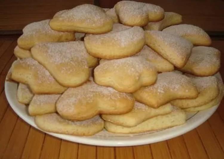 Обалденное постное печенье
