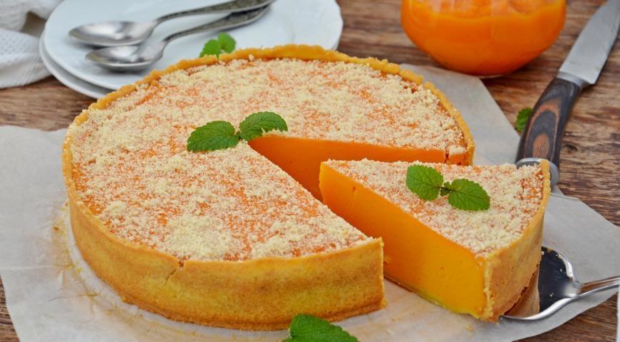 Пирог из тыквы с фото пошагово в
