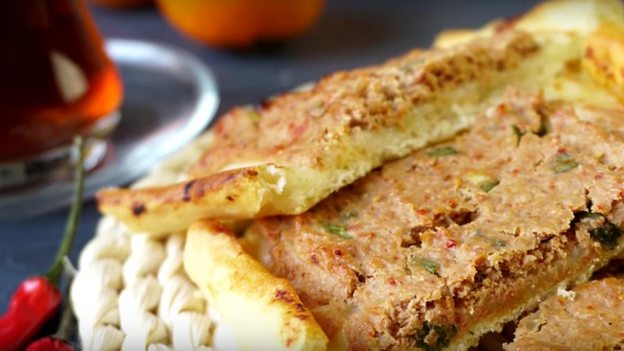 Неимоверная вкуснота из фарша ☆ Пиде - турецкие лодочки