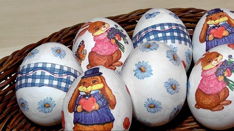 Оригинальные яйца на Пасху: очень красиво, просто и безопасно