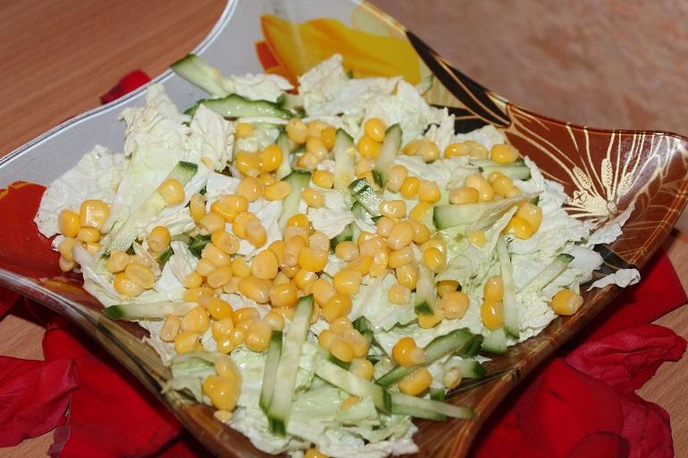 Очень вкусный салат «Весенняя радость»