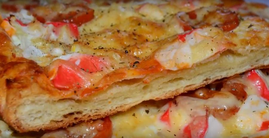 Это вам не пицца! Быстрый пирог