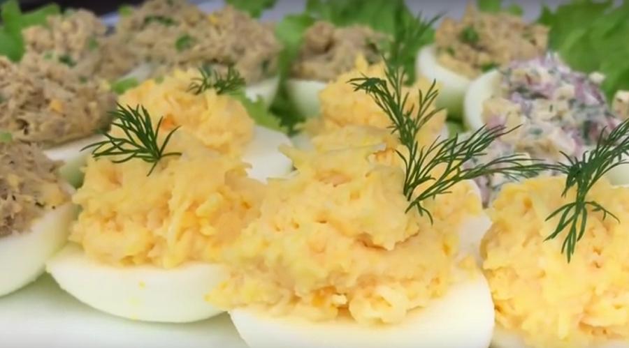 Фаршированные яйца: лучшее блюдо к завтраку или обеду