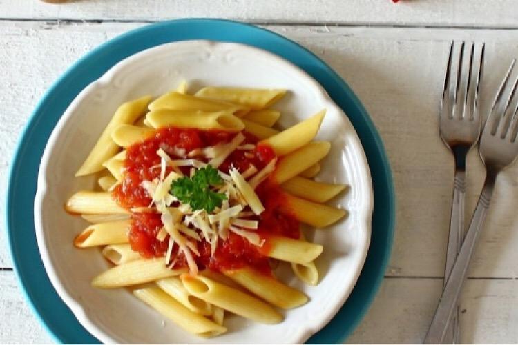 Вкусное итальянское блюдо «Пенне Арабьята»