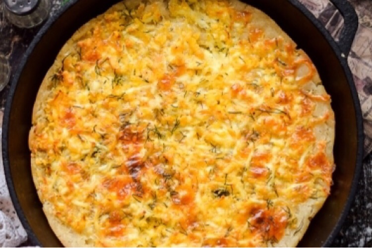 Вкусный пирог с сыром на каждый день