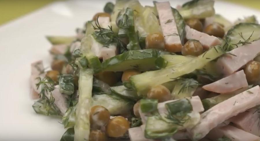 Салат 5 минутка без майонеза! 👍😋 Необычный и Потрясающе Вкусный салат!