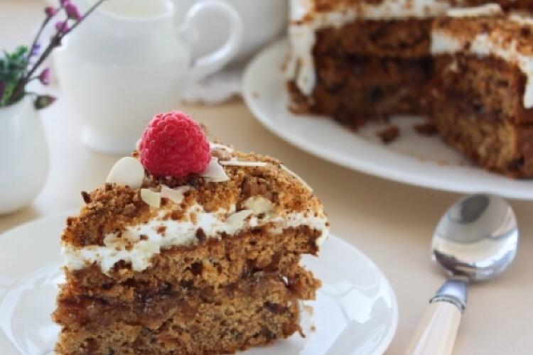 Божественный финиковый торт