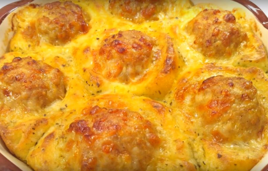 Потрясающее горячее блюдо из простых продуктов
