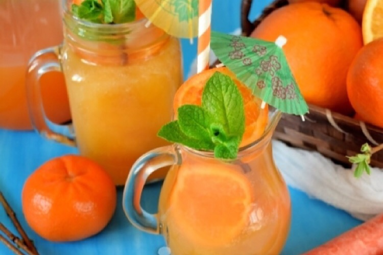 """Витаминный напиток """"Орандаж"""" с морковным соком"""
