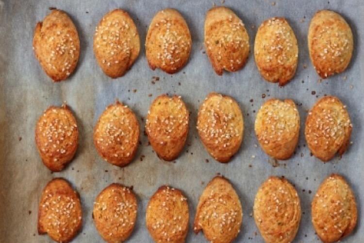 Отменное печенье с плавленным сыром