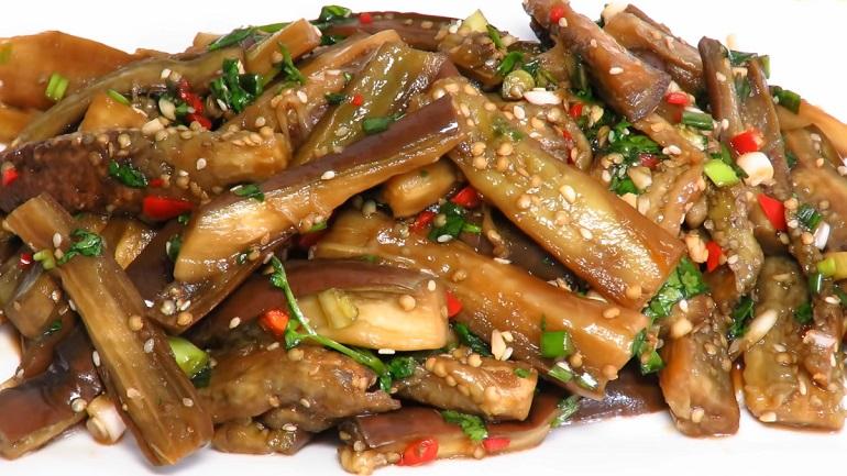 Баклажаны по-корейски: лучшая закуска к шашлыкам