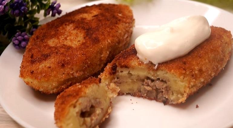 Безумно вкусные картофельные пирожки