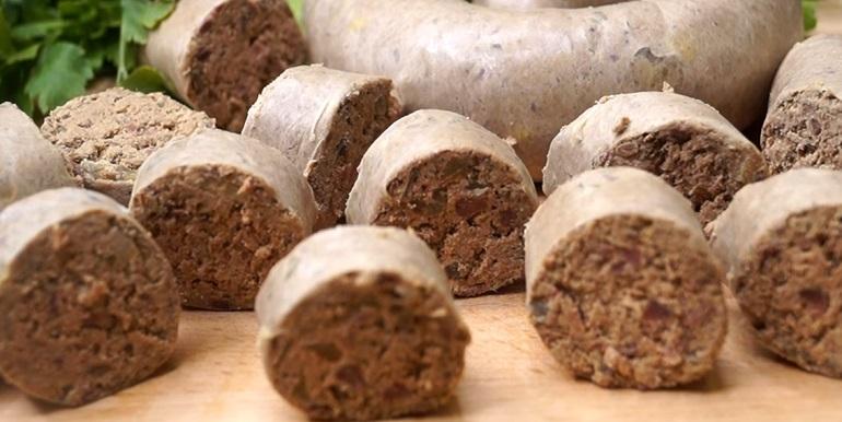Домашняя ливерная колбаса: настоящее объедение