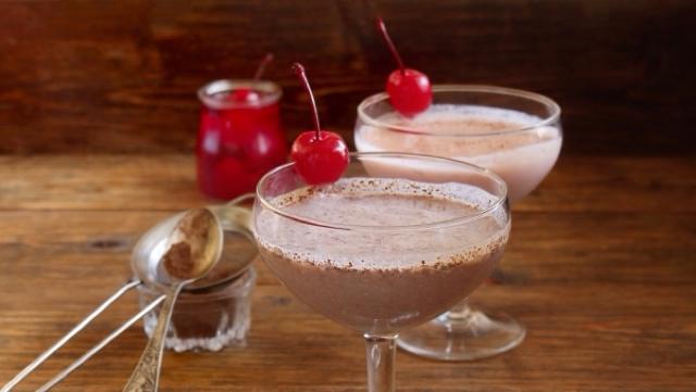 Божественный смузи с вишней и шоколадом