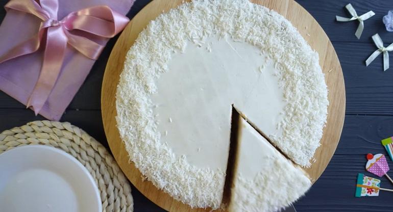 Нежный торт «Облачко»: легкий и пушистый, тает во рту