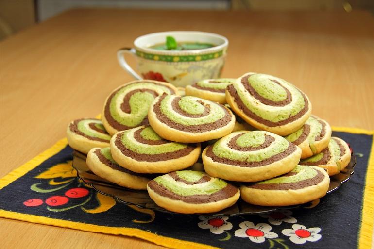 Обалденное шоколадно-мятное печенье «Шокомятки»