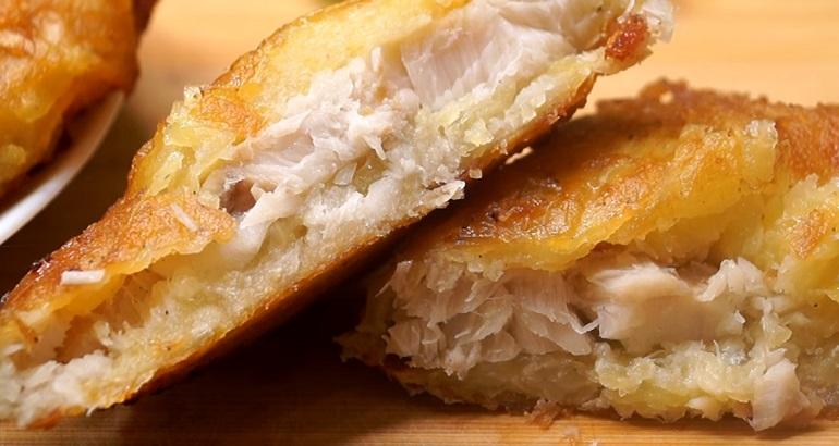 Рыба в картофельном кляре: невероятно вкусно и быстро
