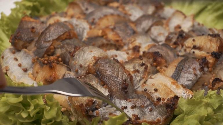 Шикарная рыбная плетенка: красивее и вкуснее вы не найдете