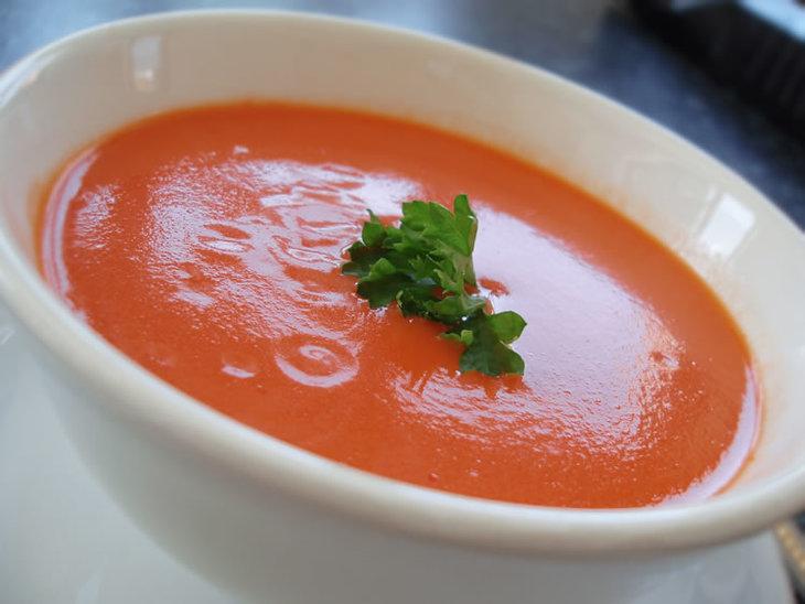 Диетический творожно-томатный соус